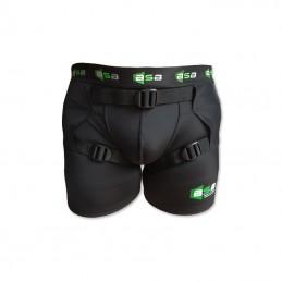 Short boxer strap bassin BSB noir